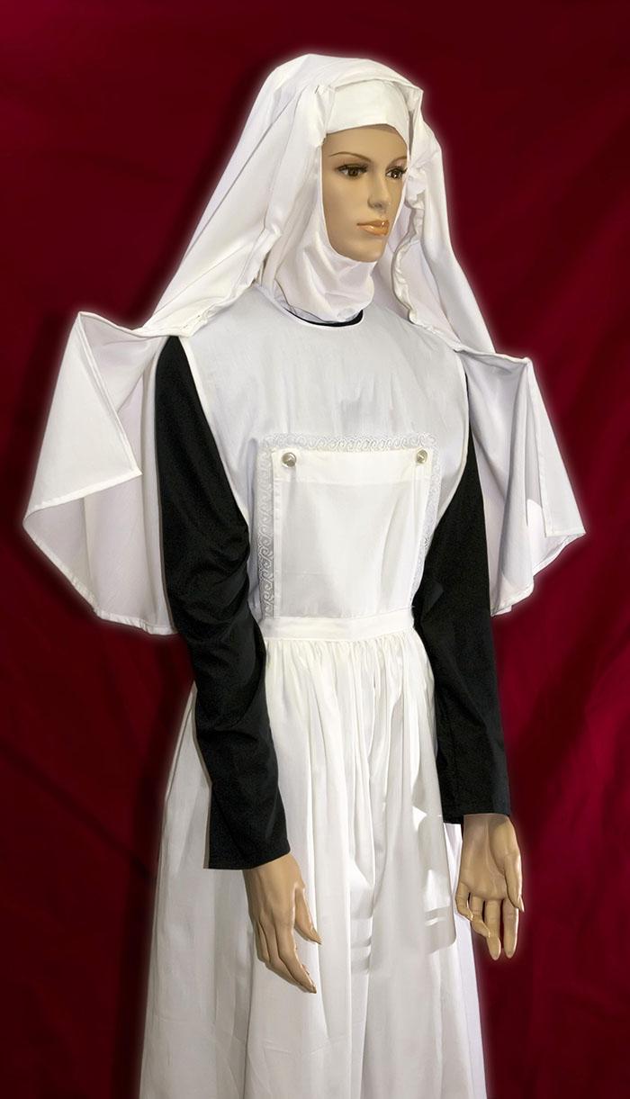 enfermera medieval uniformes religiosos uniformes museo hist rico de enfermer a. Black Bedroom Furniture Sets. Home Design Ideas